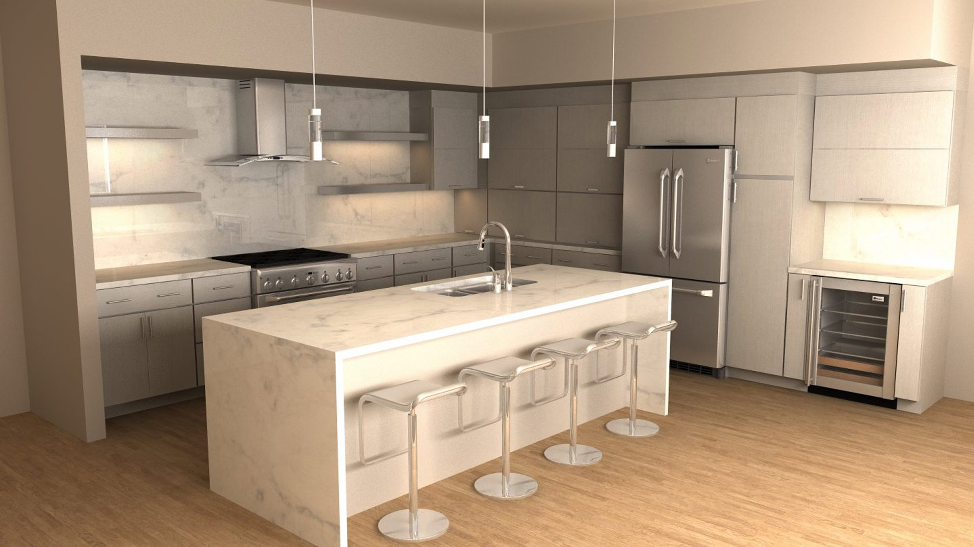 10 Top Trends for Kitchen Design in 2020 | Around The Home on Kitchen Modern Design 2020  id=27886