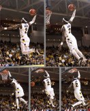 Briante Weber dunk sequence.