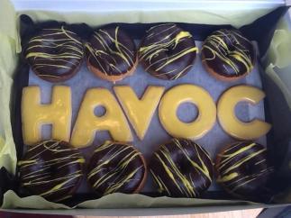 Mmmmm, Havoc donuts.