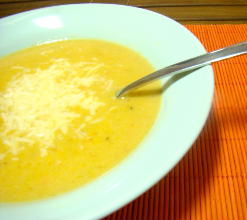 Argentine Humita and Cauliflower Soup