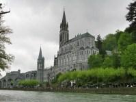 Lourdes Sanctuary and the Gave de Pau River