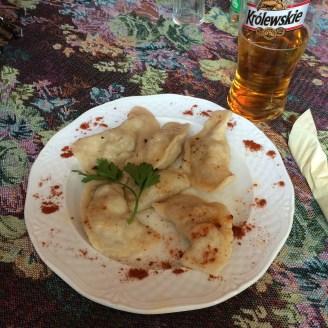 Mexican Pierogi (dumplings)