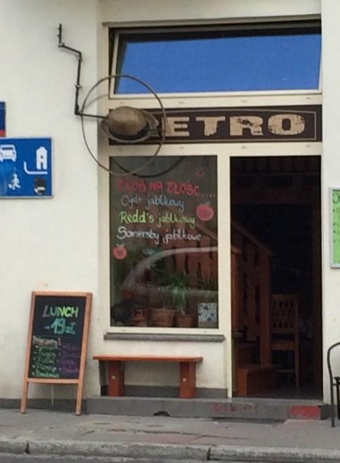 """DejaVu"""" dawniej Retro restaurant, Warsaw"""