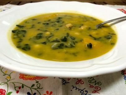 Sopa de Legumes Potuguesa - Portuguese Vegetable Soup