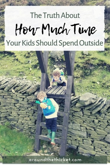 Charlotte Mason famously recommends four to six hours of outdoor play for kids. Does this sound overwhelming or impossible? Make sure you look at the principles behind this prescription.