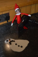 Jingles the Elf murers Frosty the Sowman at the Callaghan household