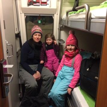 Santa Claus Express sleeper cabin