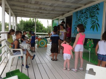 Olympics with Mini Club at Spiaggia e Mare Holiday Park, Italy