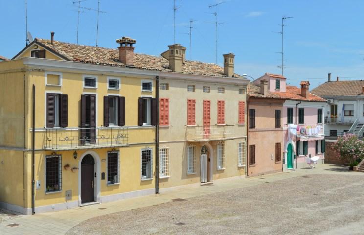 Residential dwellings in Comacchi, Italy