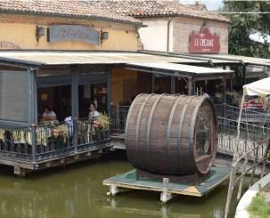 Le Gresine Restaurant in Comacchio, Italy