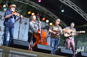 Bluegrass quartet at the Bluegrass Festival held at the Ulster American Folk Park in Omagh