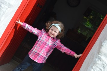 Matilda at the 26th Annual Bluegrass Festival at the Ulster American Folk Park in Omagh