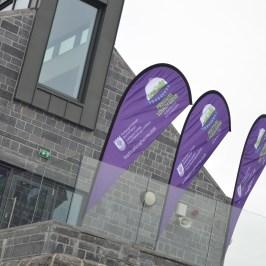Flying the flag for Festival Lough Erne