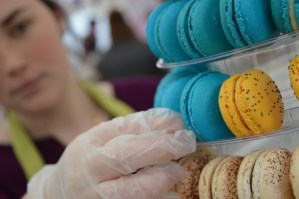 Colourful macaroons from Lough Erne Cakes