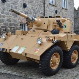 Artillery vehicle at Enniskillen Castle