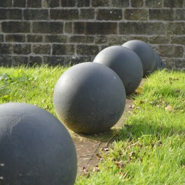 Atlas balls at Enniskillen Castle