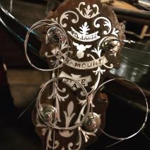 William L Lange vintage 4 string tenor banjo