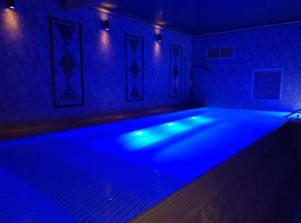 Plunge Pool at Corick House Spa