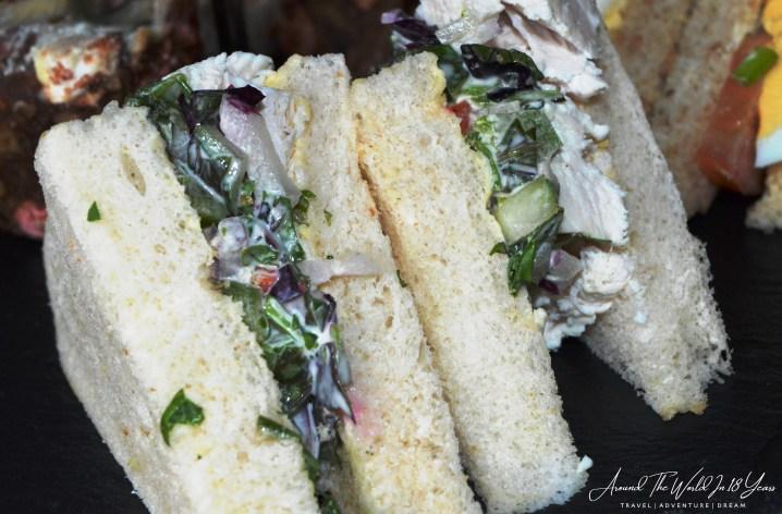 Mellon Country Inn - Dainty Sandwiches