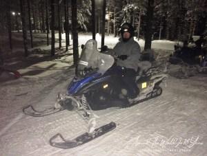 Santa Claus Holiday Village - Snowmobiling