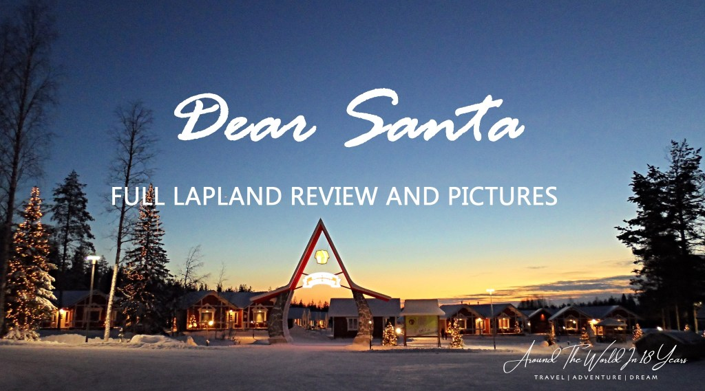TOP 18 - Budget Travel Tips - Santa Claus Holiday Village