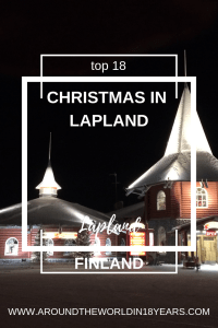 Top 18 - Christmas in Lapland