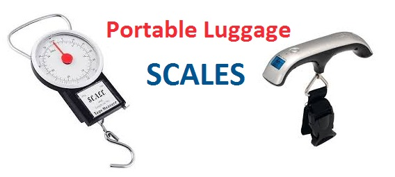 TOP 18 - Budget Travel Tips - Portable Luggage Scales