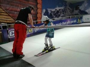 Ski lessons at We Are Vertigo in Belfast