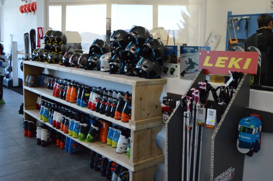 Sports Cermis Ski Hire and Shop at Alpe Cermis, Cavalese