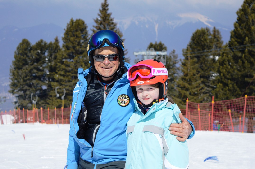 Massimo and Lily-Belle a Alpe Cermis