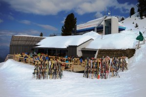 Oberholz Restaurant and Bar terrace and chair lift