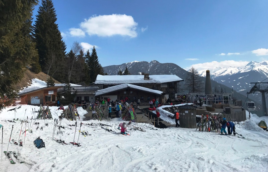 Ski Center Latemar, Predazzo in the Italian Dolomites