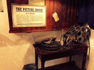 Show reels at the Picture House in the Ulster Folk & Transport Museum