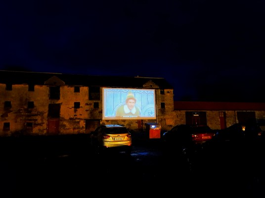 Drive In Movie at Westport House