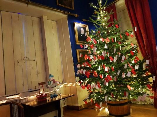 A Wishmas Tree at Winter Wonderland in Westport House