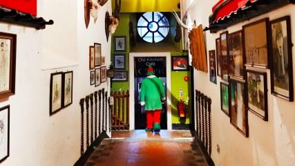 Elf at Winter Wonderland in Westport House, Mayo