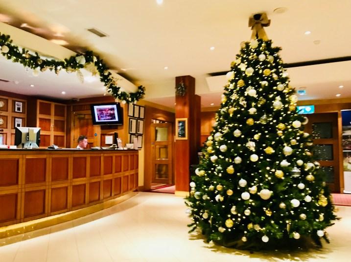 Reception area at Hotel Westport