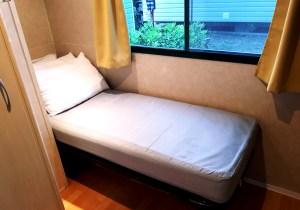 Bedroom 1 at Eurocamp #150 at Marina Julia Camping Village