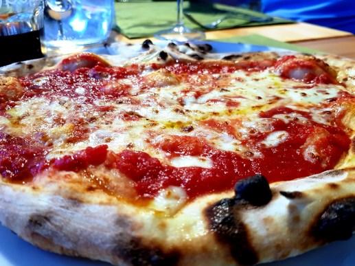 Marina Julia Camping Village; fresh pizza