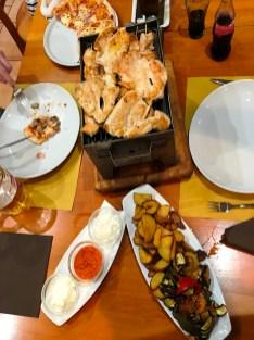 Dining at Cuk Gostilna Pizzeria in Postojna