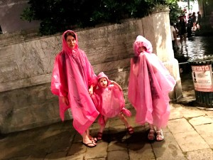 Pink poncho's in Venice
