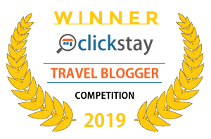 Around The World In 18 Years - winner of the Clickstay Travel Bloggers Competition 2019
