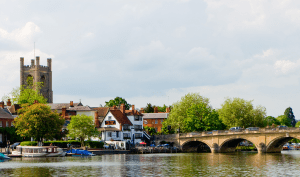 Henley Bridge on the River Thames