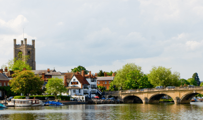 Henley Bridge on the River Thames