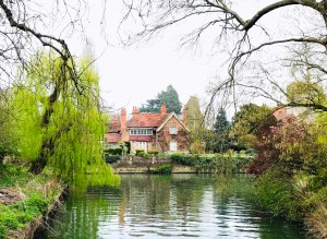 George Micheal's house in Goring on the River Thames