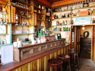 Stepping back in time inside Luker's Bar at Shannonbridge