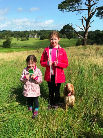 Gocaching at Necarne Castle in Fermanagh