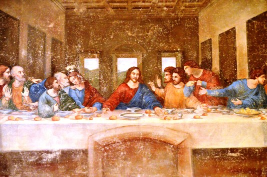 The Last Supper at the Leonardo da Vinci Museum, Florence
