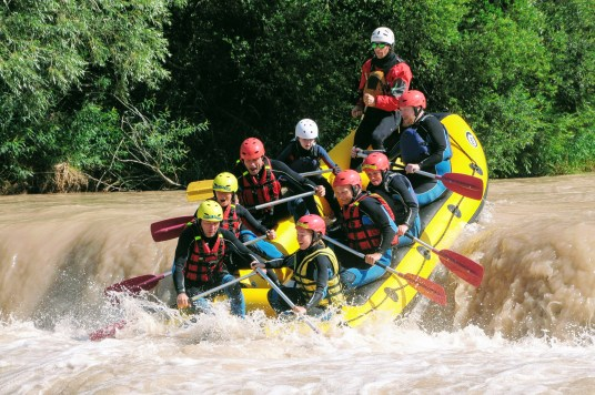 Class 3 River Rafting with Avisio Rafting in Alpe Cermis