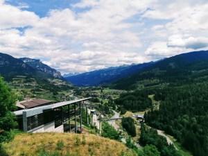 Views of Alpe Cermis from Bar al Parco